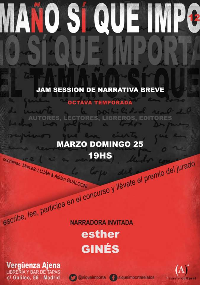 Jam relato 25 03 2018 Esther Gines